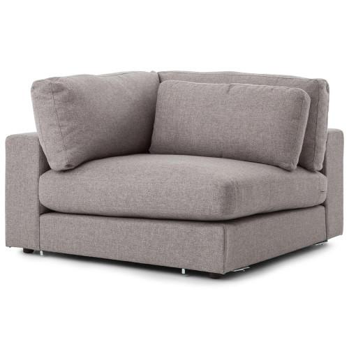Bloor Modern Gray Sectional Corner Piece
