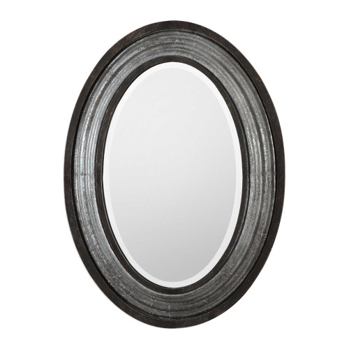 Uttermost Galina Iron Oval Mirror