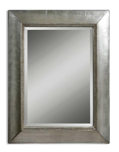 Uttermost Fresno Antique Silver Mirror
