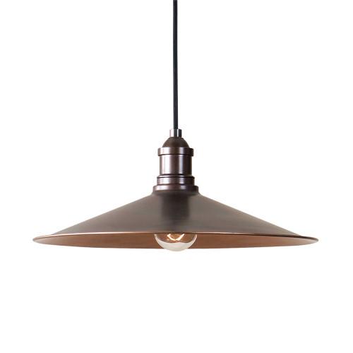 Barnstead 1-Light Copper Pendant Lamp