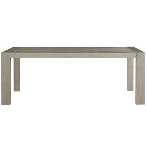 "Langston Modern Grey Oak Wood Dining Room Table 84"""