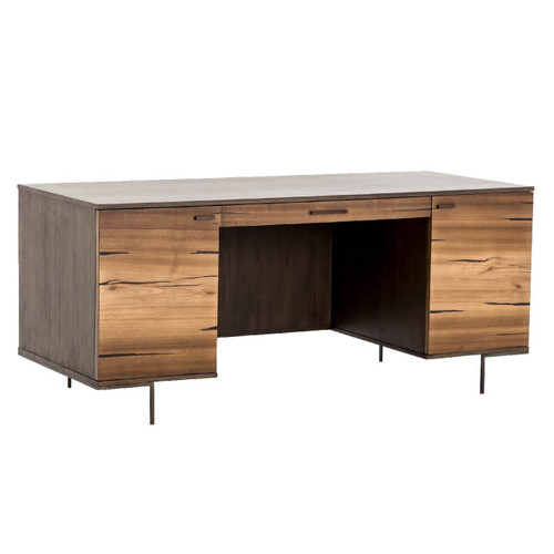 Cuzco Yukas Wood Modern Executive Office Desk