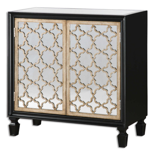 Franzea Mirrored Small Console Cabinet