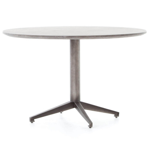 Kaufman Concrete Round Dining Table 47""