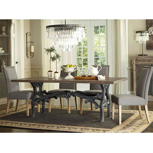 Hobbs French Industrial Dining Room Table 84\