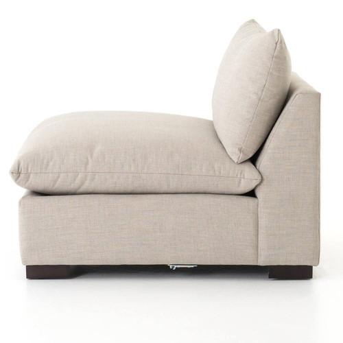 Westworld Modern Beige 5-Piece Modular Lounge Sectional Sofa