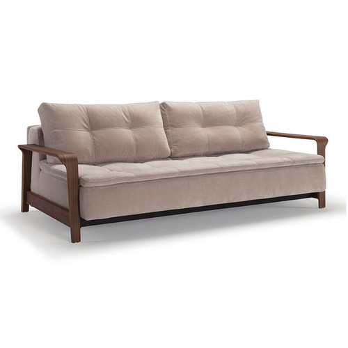 Alto Dual with Ran Arms Sleeper Sofa Bed