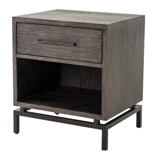 Wood modern furniture Acnl Alexa Industrial Modern Iron Oak Nightstand Trendir Eclectic Modern Furniture Rustic Reclaimed Wood Furniture Zin Home