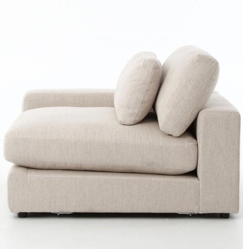 Bloor Contemporary Beige 5 Piece Corner Sectional Sofas 131\