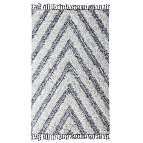 Chevron Moroccan Kilim Shag Area Rugs