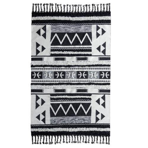 Tribal Moroccan Kilim Shag Area Rugs