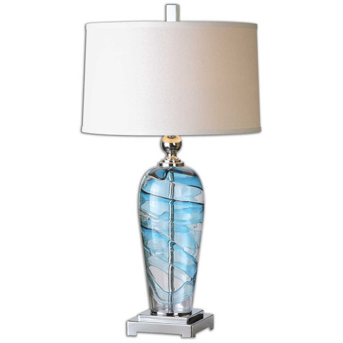 Andreas Blown Glass Lamp
