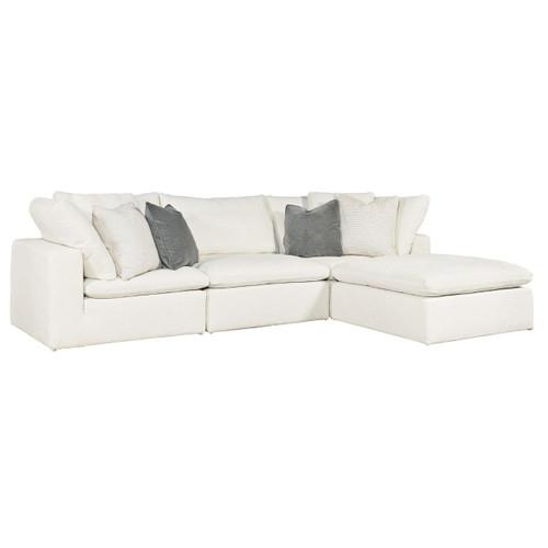 Palmer Coastal Beige 4-Pc Modular Sectional Sofa