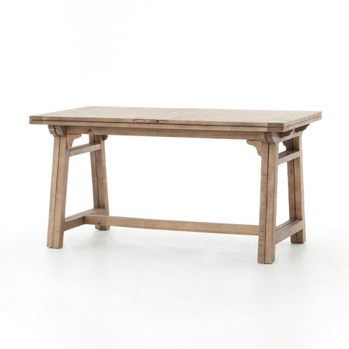 Spanish Reclaimed Wood Extension Bar Pub Table