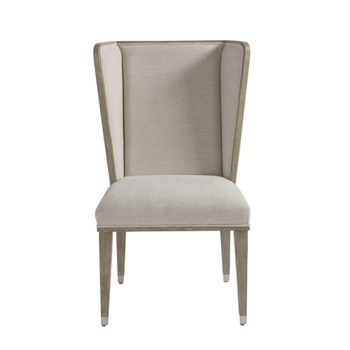 Coastal Zephyr Grey Wingback Host and Hostess Chair