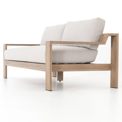 Monterey Natural Teak Outdoor 2 Seater Sofa 74\