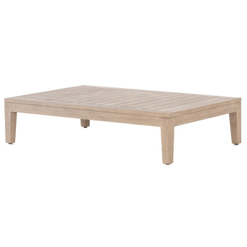 Huntington Natural Teak Outdoor Coffee Table 51""