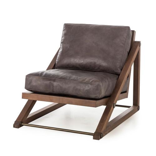 Thomas Bina Teddy Chair - Story Black Leather