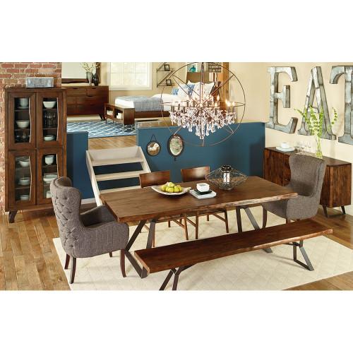 Peachy Brooklyn Loft Live Edge Dining Bench 72 Ncnpc Chair Design For Home Ncnpcorg