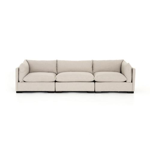 Westworld Modern Beige 3-Piece Lounge Sofa 117\