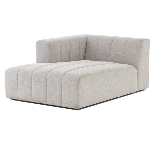 Langham Channel Tufted LAF Sectional Chaise