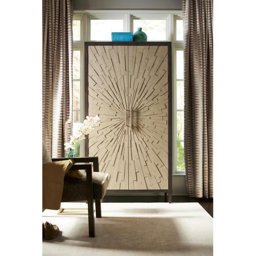 Soliloquy 2 Doors Starburst Wardrobe Armoire,788165