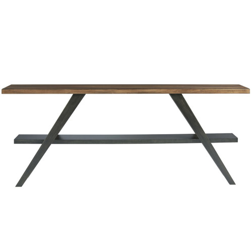 Chandler Mid-Century Modern Wooden Console Table 84\