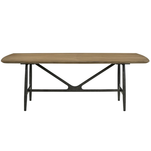 Ingram Mid-Century Modern Dining Table 86""