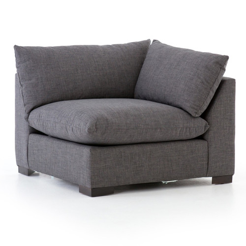 Westworld Modern Gray Sectional Corner Chair