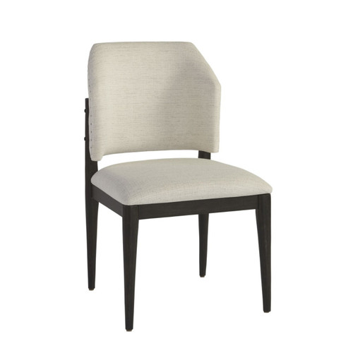 Eva Upholstered Barrel Back Side Chairs