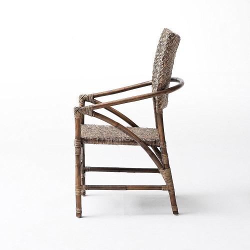Terrific Arrow Coastal Wicker Woven Accent Chair Theyellowbook Wood Chair Design Ideas Theyellowbookinfo