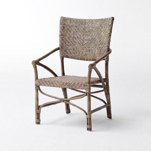 Pleasant Arrow Coastal Wicker Woven Accent Chair Theyellowbook Wood Chair Design Ideas Theyellowbookinfo