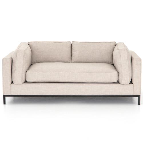 "Grammercy Modern Natural Small Sofa 72"""