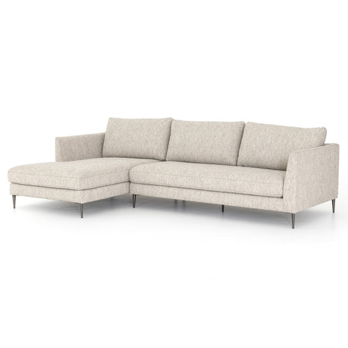 Kailor Modern Neutral Sectional Sofa with Left Chaise