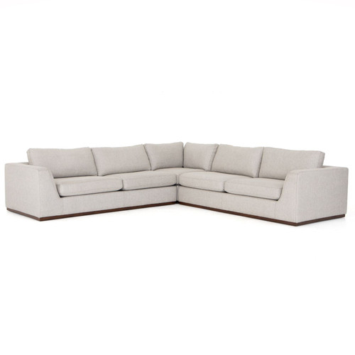 Colt 3 Piece Sectional Without Ottoman