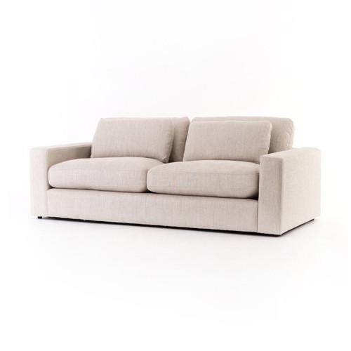 "Bloor 82"" Natural Square Arm Sofa"