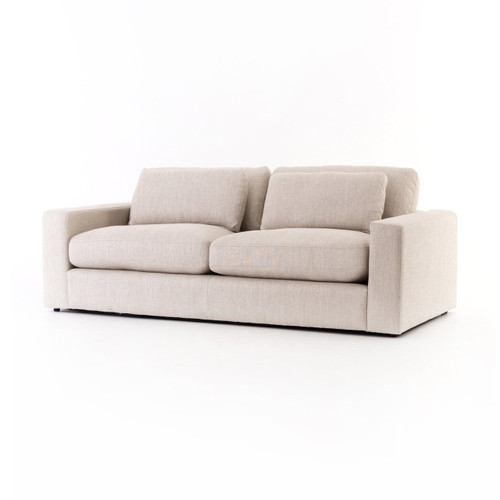 "Bloor 82"" Natural Square Arm Sofa"