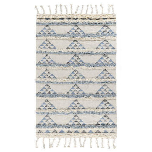 Boho-Chic Kilim Shag Area Rugs