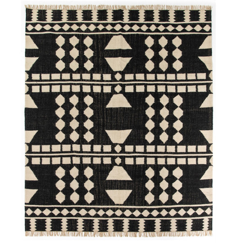 Argus Tribal Dhurrie Geometric Block Pattern Area Rug