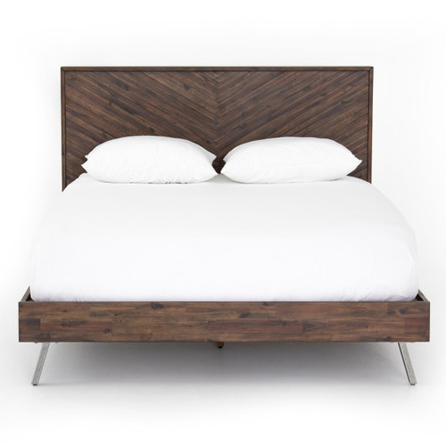 Harrington Wood King Size Platform Beds