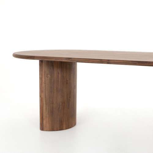 Andi Solid Wood Oval Dining Table 87 Zin Home