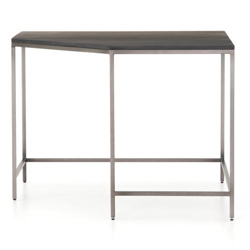 "Fulton Trey Black Industrial Modular Corner Desk 41"""