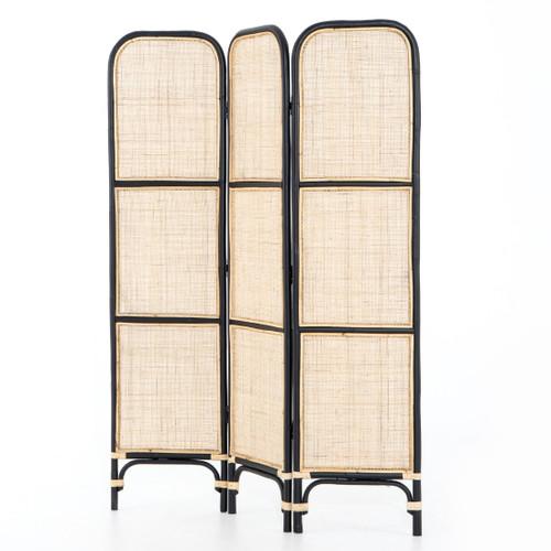 Sundara Woven Natural Rattan Screen Room Divider
