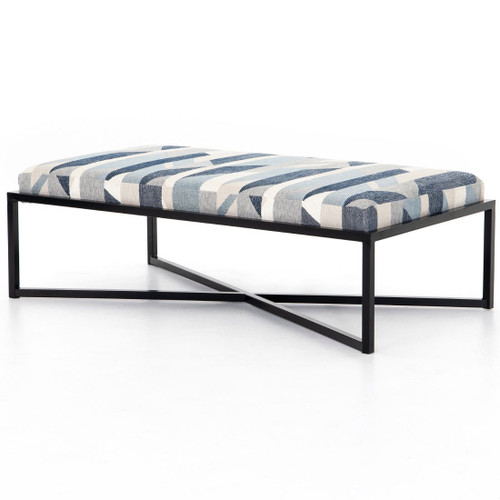 "Nadia Upholstered Ottoman Coffee Table 52"""