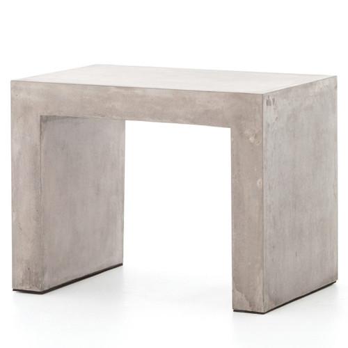 Parish Indoor / Outdoor Grey Concrete End Table