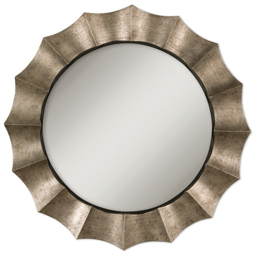 Antique Silver Large Wall Mirror