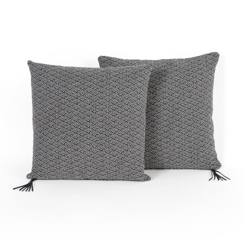 """Woven Deco Pillow-A Ink-Set Of 2-20"""""""