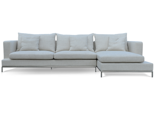 Soho Concept Simena Sectional Sofa  CREAM TWEED