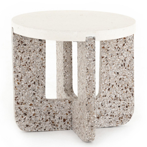 Lolita Amber & Grey Outdoor End Table