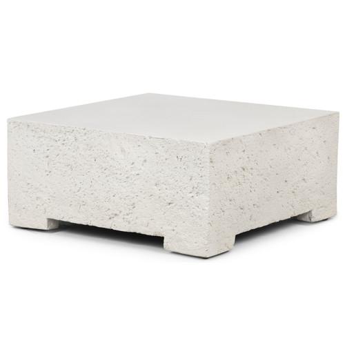 Otero Outdoor Sm Coffee Table Base-White